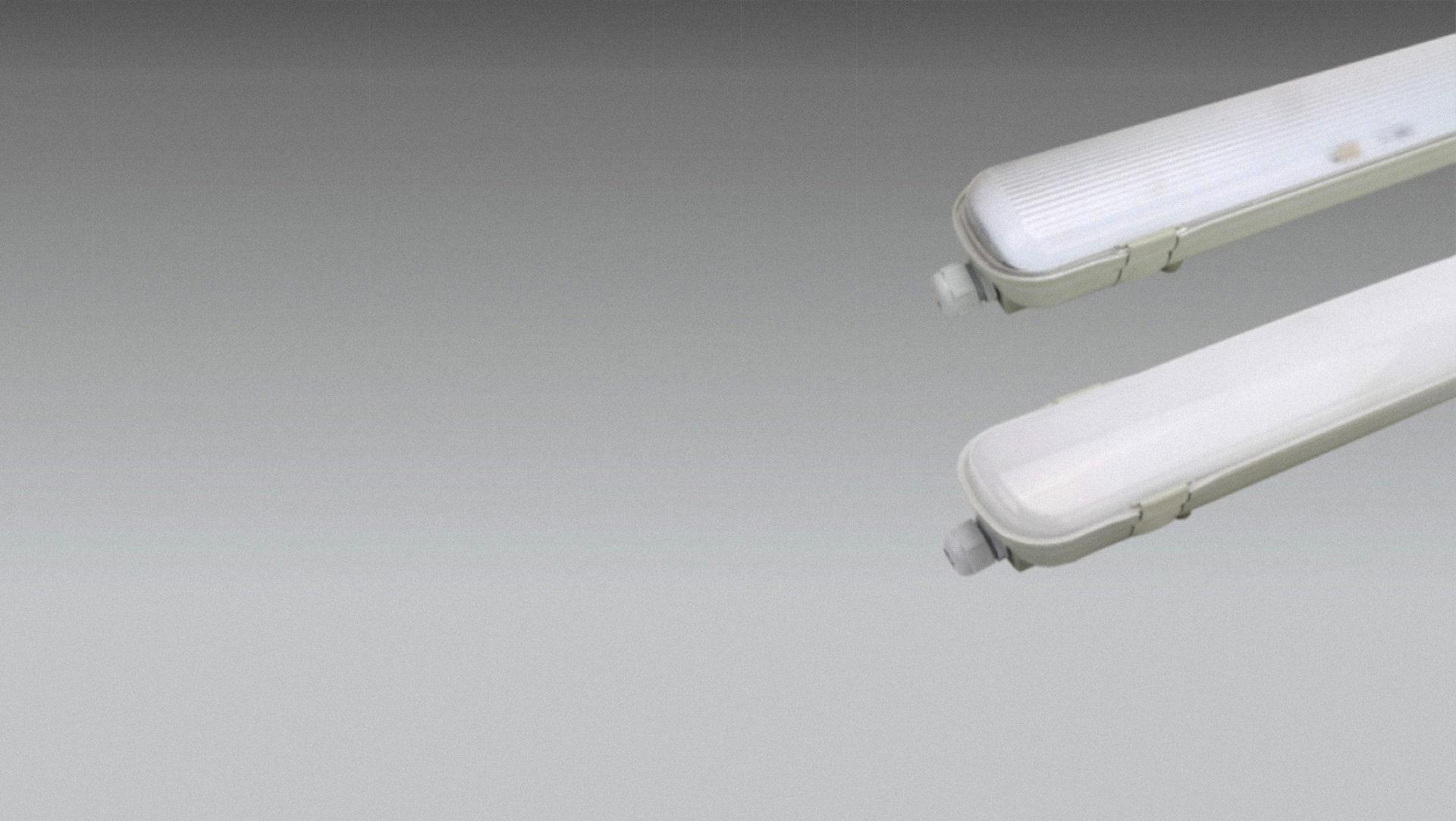 Plafoniere Ip65 : Plafoniera stagna led con tubi powersave solutions